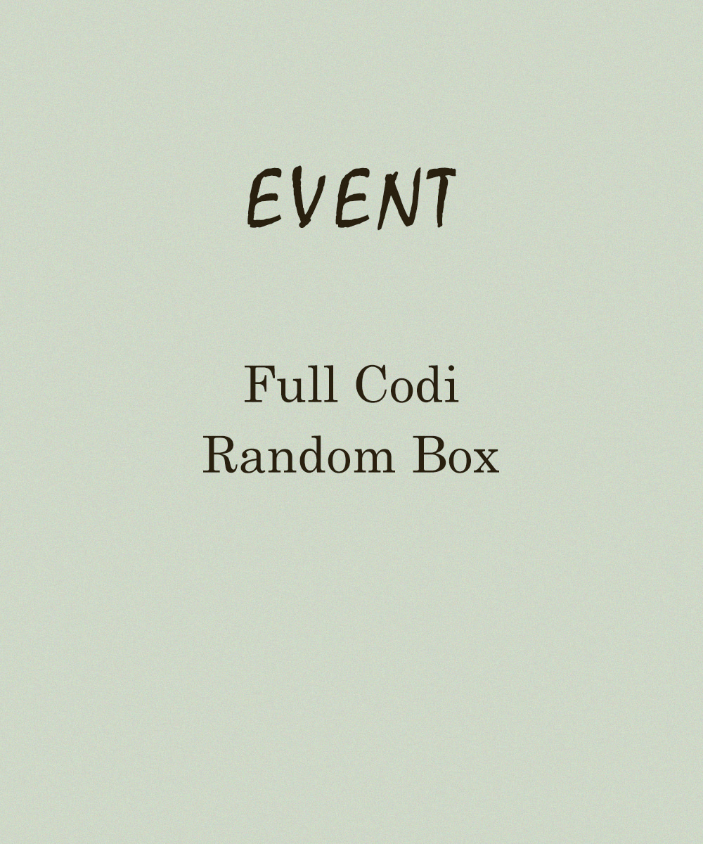 [ men 랜덤박스 ]full codi box