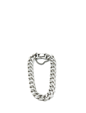 metal chain bangle (2color)
