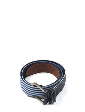 stripe webbing belt (2color)