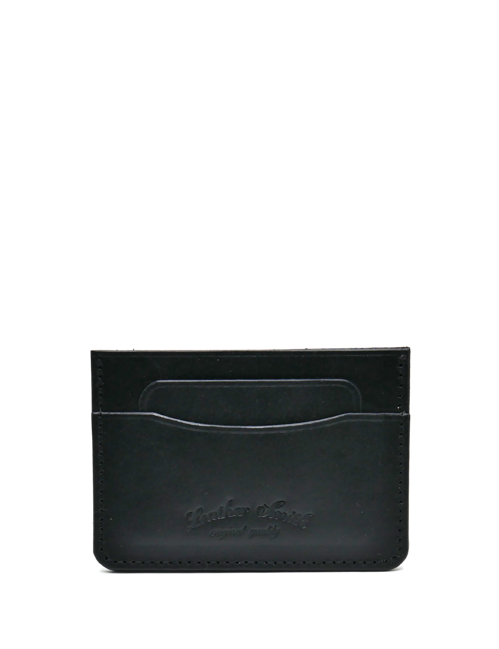 [LEATHER SMITH]  CARDCASE_BLACK